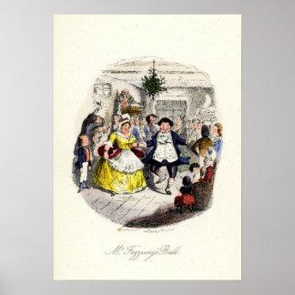 A Christmas Carol - Mr Fezziwigs' Ball Poster