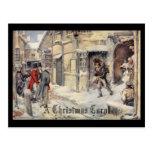 A Christmas Carol Postcard