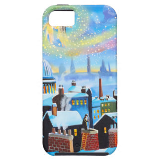 A Christmas Carol Scrooge and ghost of past iPhone 5 Cover
