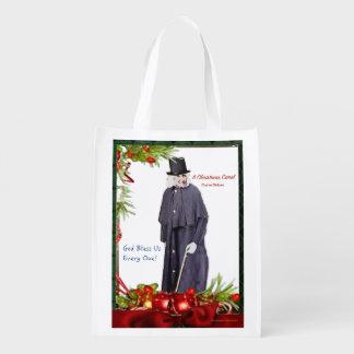 A Christmas Carol Scrooge Reusable Grocery Bag