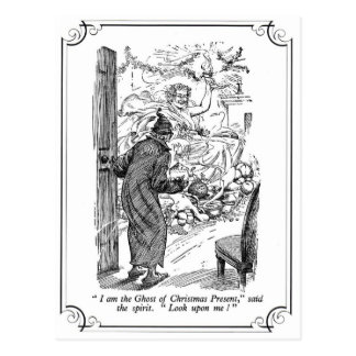 A Christmas Carol: The Ghost of Christmas Present Postcard