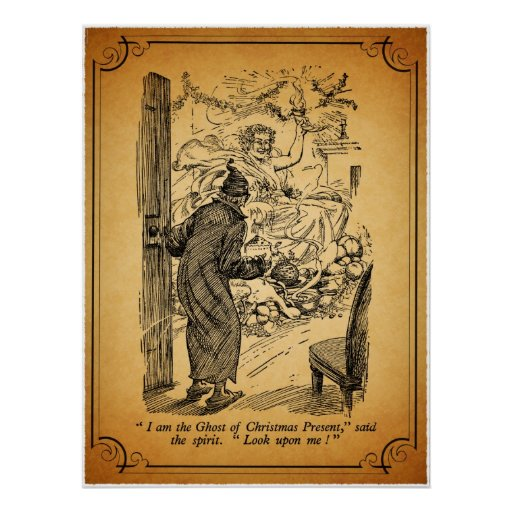 A Christmas Carol: The Ghost of Christmas Present Poster | Zazzle