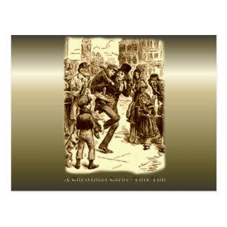 A Christmas Carol - Tiny Tim Postcard