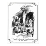 A Christmas Carol: You Will Be Haunted Postcard