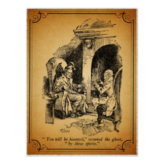 A Christmas Carol: You Will Be Haunted Poster