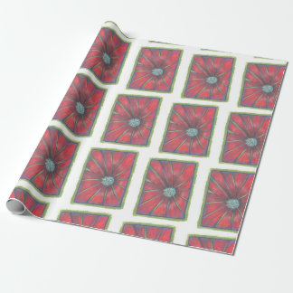 A Christmas flower Wrapping Paper