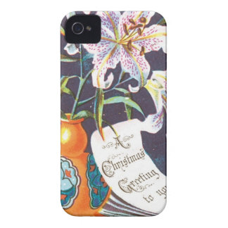 A Christmas Greeting to you iPhone 4 Cases