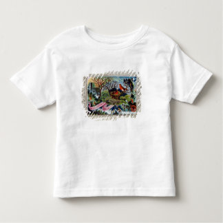 A Christmas Greeting, Victorian postcard Toddler T-Shirt