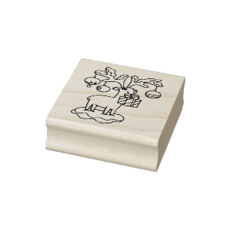 A Christmas Offering Christmas Rubber Stamp