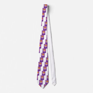 A christmas template with a purple background tie