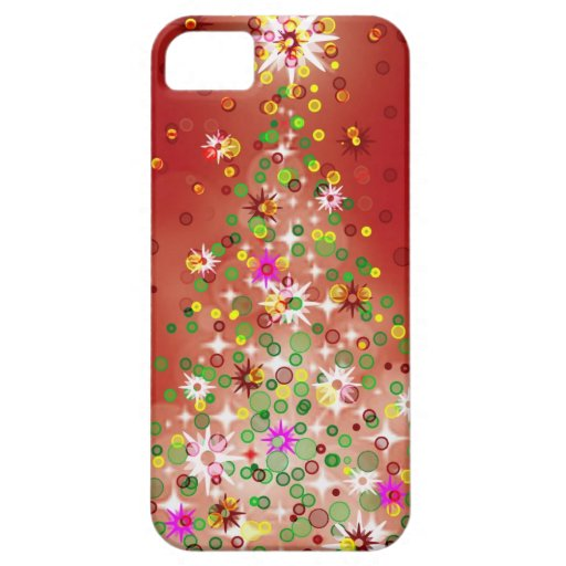 A Christmas tree that glows. iPhone 5 Cases