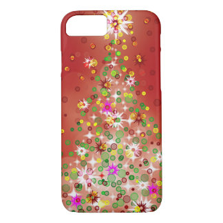 A Christmas tree that glows. iPhone 8/7 Case