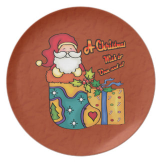 A Christmas wish for one and all Dinner Plates