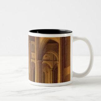 A Church Interior Two-Tone Coffee Mug
