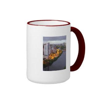 A_Cidade_e_o_Rio BRAZIL Ringer Mug