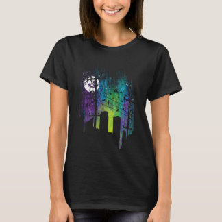 A City Bursts With Vibrant Energy T-Shirt