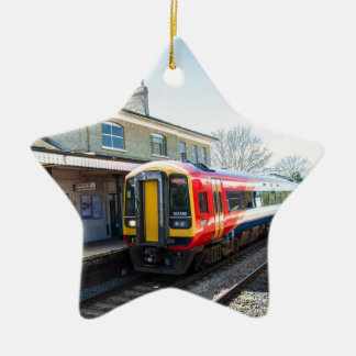 A Class 158, Romsey Station Christmas Ornament