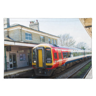A Class 158, Romsey Station Placemat