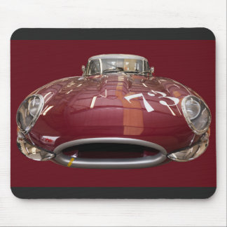 A Classic Jaguar E-Type from 1961 Mouse Pad