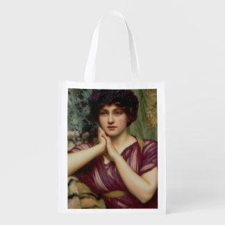 A Classical Beauty 1901 oil on canvas Market Tote