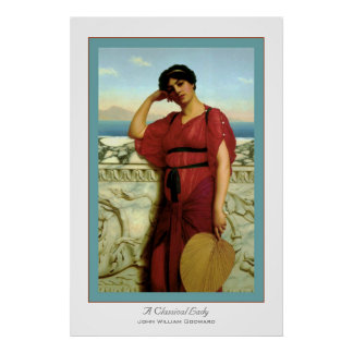 A Classical Lady Poster