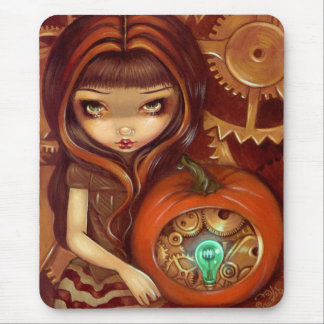 A Clockwork Pumpkin Mousepad