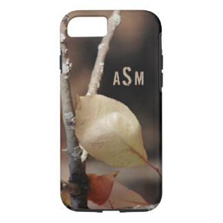 A Close Up of a Beautiful Leaf Changing Colors iPhone 7 Case
