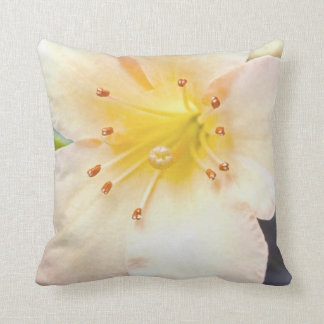 """""""A Close Up of a Lily"""" Throw Pillows"""