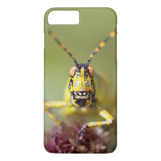 A close-up of an Elegant Grasshopper iPhone 8 Plus/7 Plus Case