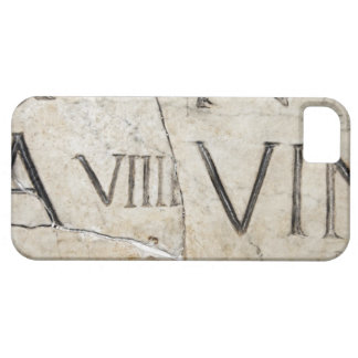 A close-up of ancient Roman letters on marble. iPhone 5 Case