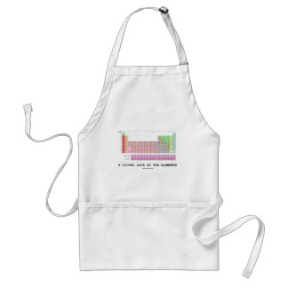 A Closer Look At The Elements (Chemistry) Standard Apron
