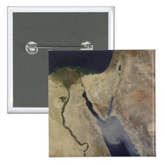 A cloud of tan dust from Saudi Arabia 15 Cm Square Badge