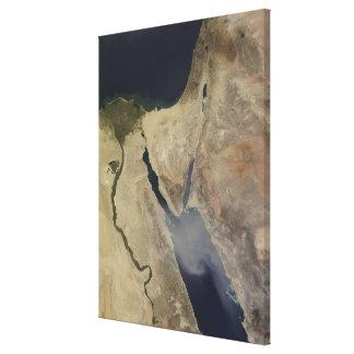 A cloud of tan dust from Saudi Arabia Canvas Print