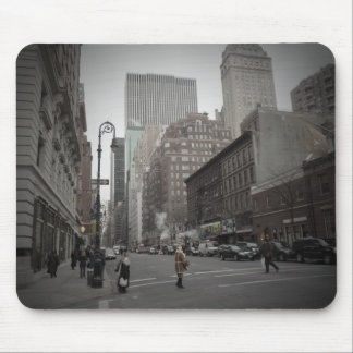 A Cloudy Day on the Upper East Side Mouse Pad