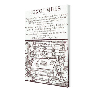A Cluster of Coxcombes' by John Taylor Canvas Prints