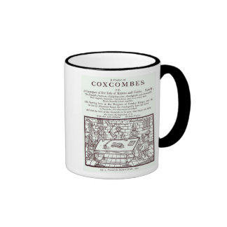 A Cluster of Coxcombes' by John Taylor Ringer Mug