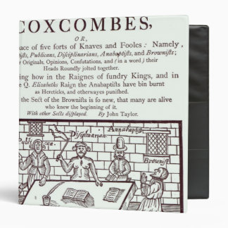 A Cluster of Coxcombes' by John Taylor Vinyl Binder