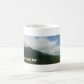A coffee cup that inspires yourself basic white mug