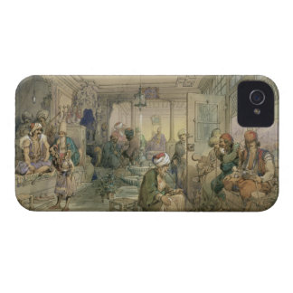A Coffee House, Constantinople, 1854 (pen & ink & Case-Mate iPhone 4 Case