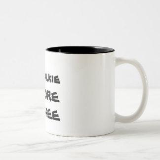 A coffee mug for serious coffee drinkers.