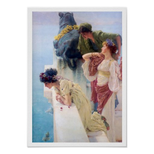 A coign of vantage, 1895 Poster