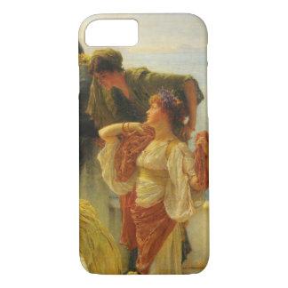 A Coign Of Vantage by Alma Tadema, Vintage Art iPhone 8/7 Case