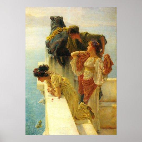 A Coign Of Vantage by Alma Tadema, Vintage