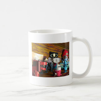 A Collection of 3D Vintage Space Toys Mug