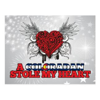 A Coloradan Stole my Heart Postcard