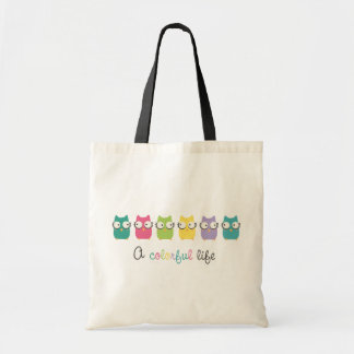 A Colorful Life (horizontal with colorful writing) Tote Bag