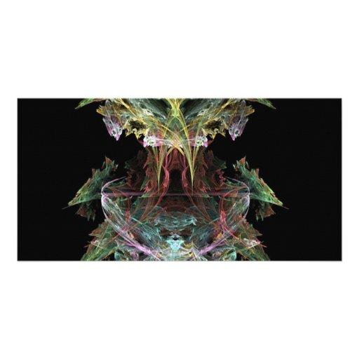 a-colourful-fractal photo card template
