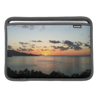 A colourful sunset over Australia's Whitsundays. Sleeve For MacBook Air