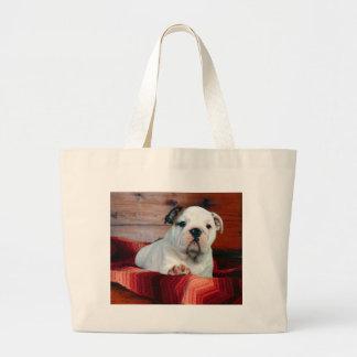 A Comfy Drawer, Bulldog Puppy Bag