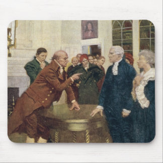 A Committee of Patriots Delivering an Ultimatum Mouse Mat